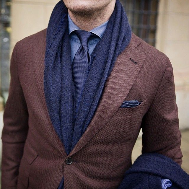 sport coat with scarf sport coat with tie brown sport coat