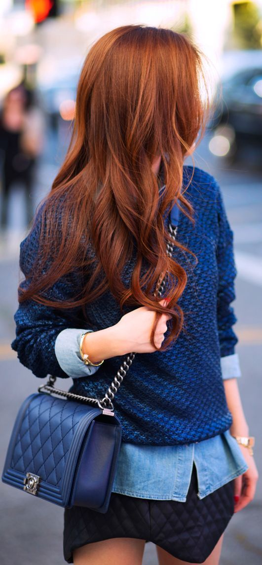 Stylist Tips Best Colors For Redheads