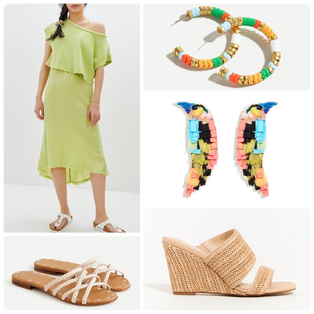 Styling Matching Sets How to Wear a Midi Dress Matching Set Summer